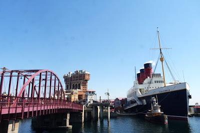 New York Harbour at  Tokyo Disneysea Japan