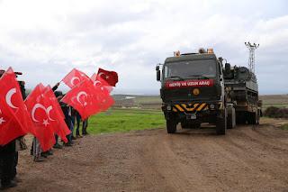 Kirim Ratusan Kendaraan Militer, Turki Perkuat Pasukan Di Idlib Suriah