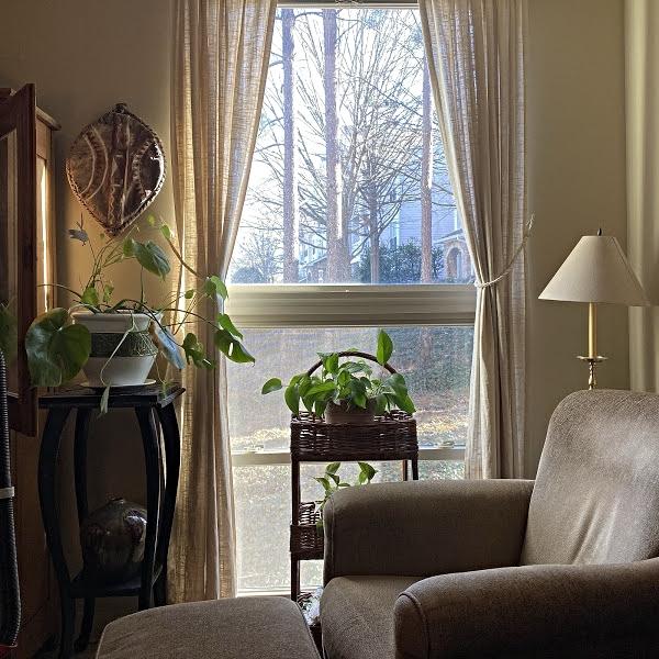 comfortable living room chair corner