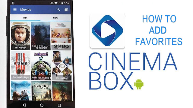 Save Favorites In Cinemabox