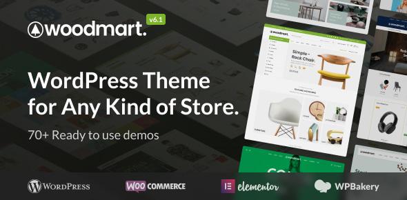 WoodMart | 15+ Best Multipurpose WooCommerce WordPress Themes