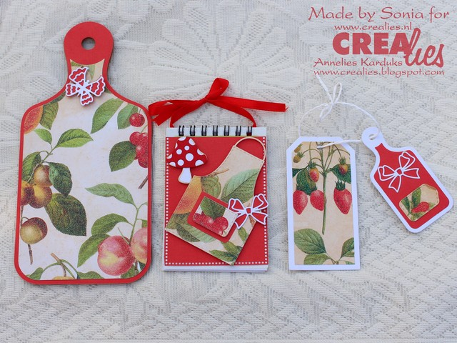 Cards Crafts Kids Projects Kitchen Notepad Holder
