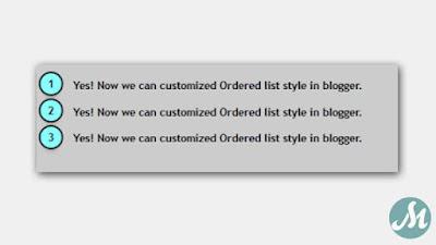 Order List Model 3