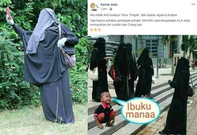 niqob dan cadar bukan ajaran islam