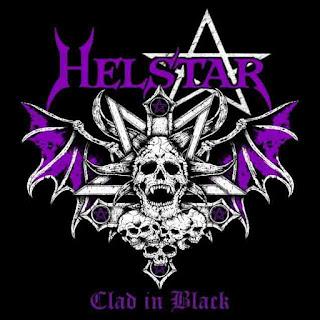 """Ο δίσκος των Helstar """"Clad in Black"""""""