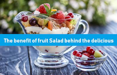 fruit salad, salad, delicious salad