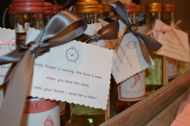 Baby Shower Wine Favors