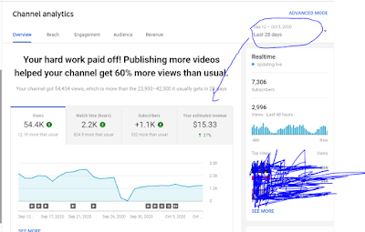 how much youtube pay for 10000 views /how much money for 10,000 views on youtube in india