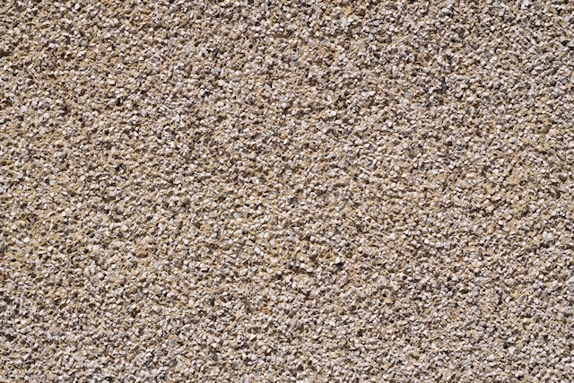 Pebblestone wall texture at a distance