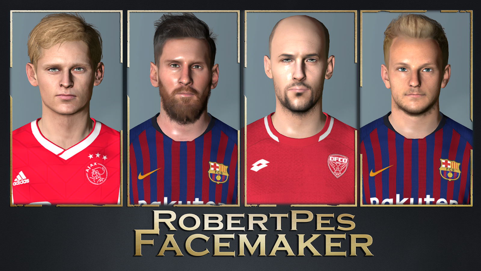 PES 2013 FACES V3 BY RobertPes FACEMAKER