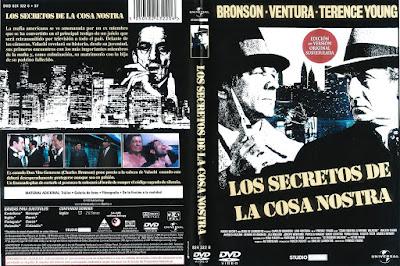 Carátula dvd: Los secretos de la Cosa Nostra