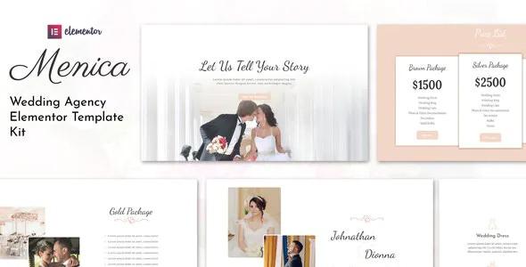 Wedding Elementor Template Kit