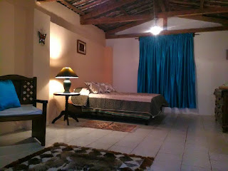 Interior of hacienda for rent in Loja province, Ecuador