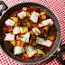 Bacalao con patatas en salsa guajillo