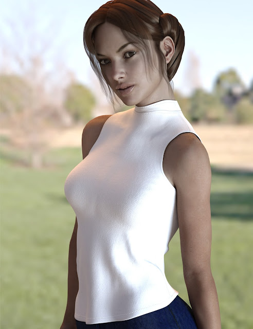 X-Fashion Girl Outfit for Genesis 3 Female