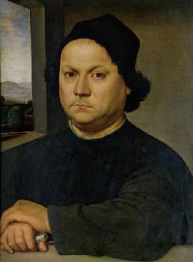 Andrea del Verrocchio, portrait by Lorenzo di Credi, ca. 1500
