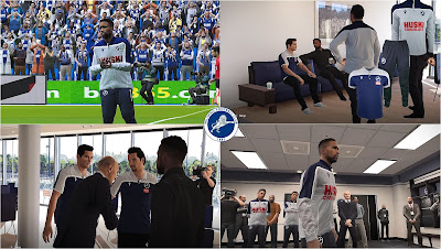 PES 2020 Millwall F.C. Polo Shirts & Track Suits by PESWilliam
