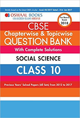 Download Free Oswaal CBSE Chapterwise  Question Bank, Solutions Class 10 Social Science Book PDF