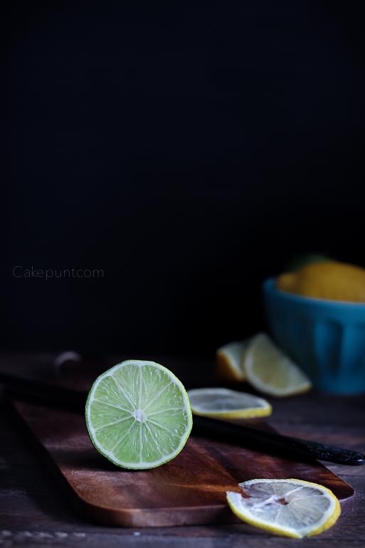 still life, limón