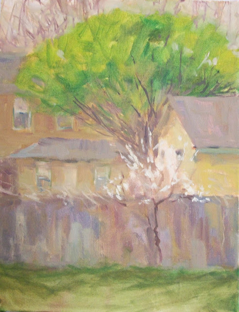 oil painting spring willow tree margaret aycock