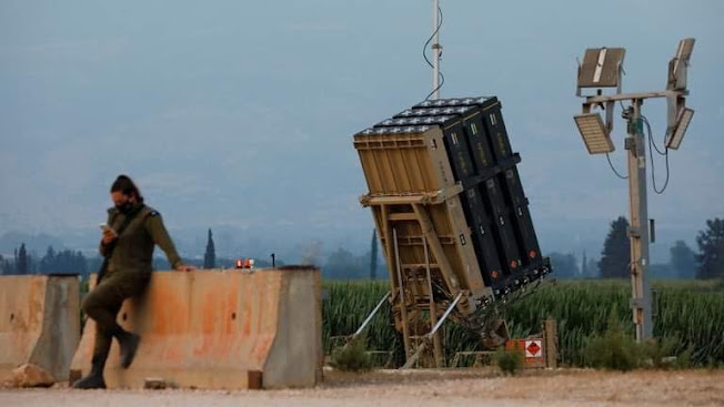 ئیسرائیل سیستمی بەرگری ئاسمانی گۆمبەزی ئاسنین لە کەنداو جێگیر دەکات