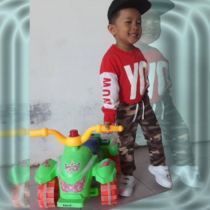 Mainan Anak Super Truck Excavator