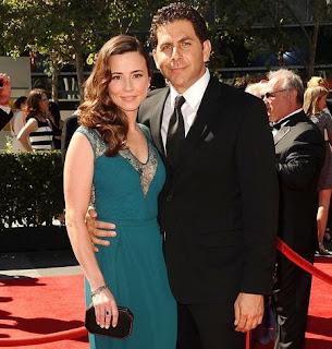 Linda Cardellini with her partner Steve Rodriguez