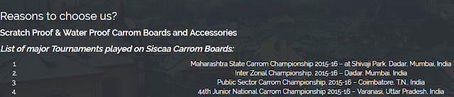 Why Choose Siscaa Carrom Boards