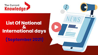 Important Days In September 2021: List Of National and International days