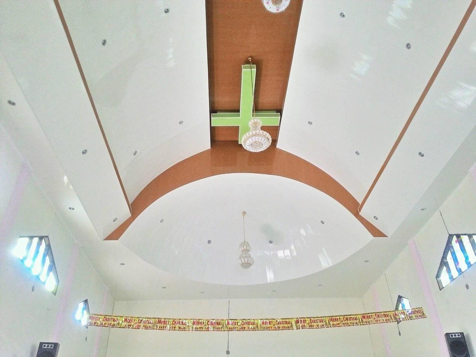 Harvest Plafon PVC Pemasangan HarVest Plafon PVC Di Gereja GKPI