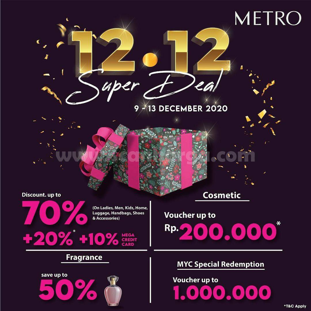 METRO 12.12 Super Deal! - Disc. up to 70%+ 20% +10% Mega Credit Card