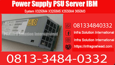 Power Supply PSU Server IBM System X3250M4 X3250M5 X3530M4 3650M3