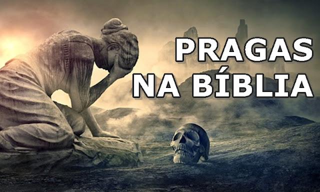 pragas na biblia