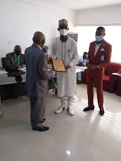 Excellent Performance: AIMP Inducts Commissioner for Education, SA To Gov. Abiodun On Inter Ethnic Affairs
