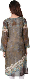 Georgette Kurti from Ladybond, Italian design and german ink and indian style