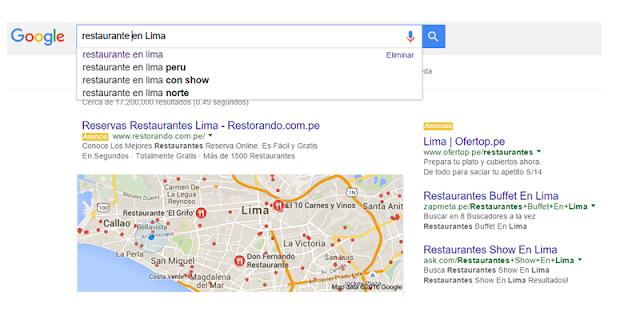 Posiciona tu Restaurante en Google