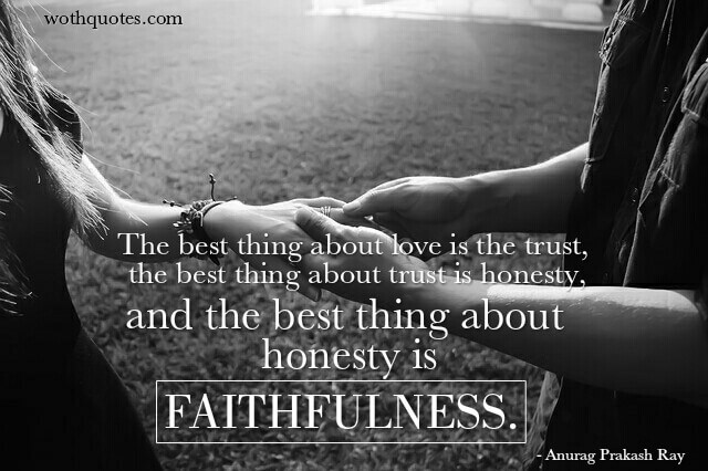 Faithful Quotes and Sayings