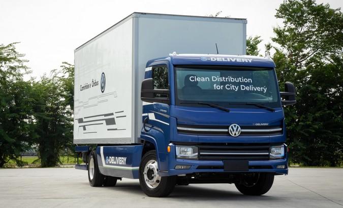 e-Delivery: Produção de caminhões elétricos Volkswagen começará neste semestre