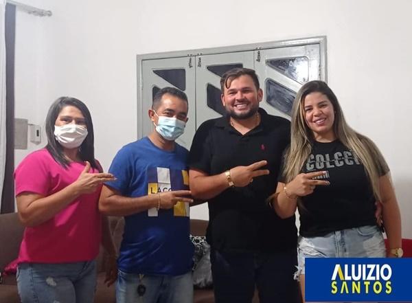 Aluizio Santos continua a receber apoio a sua pré-candidatura a deputado estadual