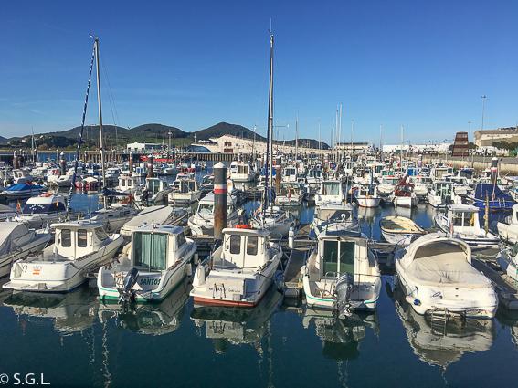 Puerto deportivo de Santoña