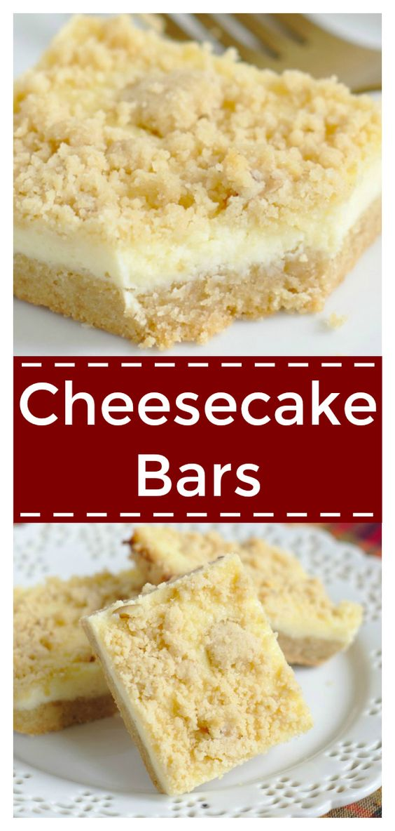 CHEESECAKE BARS #dessertrecipes #dessertrecipeseasy #dessertrecipeschocolate #dessertrecipesvideos #dessertrecipesforparties #BestDESSERTRecipes #food #foodphotography #foodrecipes #foodpackaging #foodtumblr #FoodLovinFamily #TheFoodTasters #FoodStorageOrganizer #FoodEnvy #FoodandFancies #drinks #drinkphotography #drinkrecipes #drinkpackaging #drinkaesthetic #DrinkCraftBeer #Drinkteaandread #RecipesFood&Drink #DrinkRecipes #recipes #recipeseasy #recipesfordinner #recipeshealthy