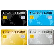 クレジットカードのイラスト(番号なし)
