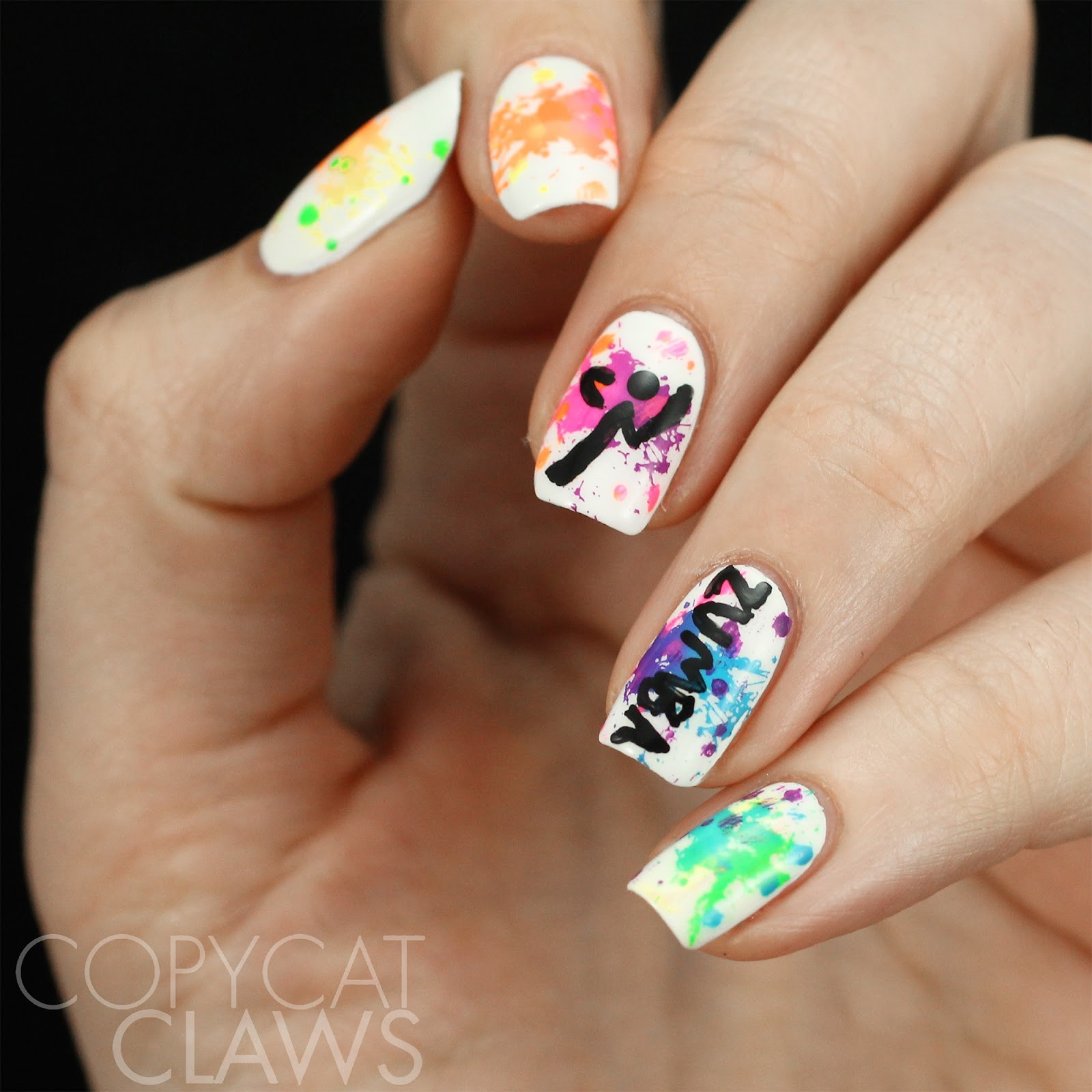 Copycat claws the digit al dozen does get to know me zumba nails now that its almost may im gonna have to trade my gym clothes for my ultimate cleats but im sure ill be back doing zumba in september or anytime i have prinsesfo Gallery