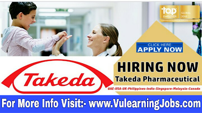 Takeda Pharmaceutical Company Jobs 2019 For Worldwide Latest