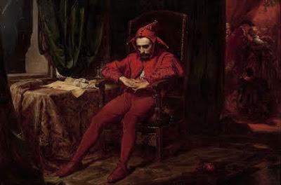 A Brooding Court Jester by Jan Matejko
