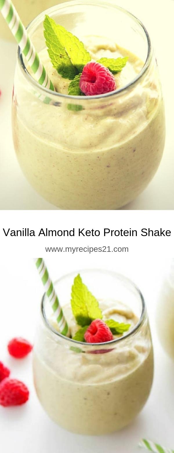 Vanilla Almond Keto Protein Shake