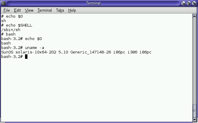 how to check nfs version in solaris 10