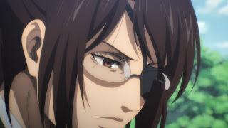 Hellominju.com: 進撃の巨人アニメ第4期『ハンジ・ゾエ(CV. 朴璐美)』 | Attack on Titan | Hans Zoe | Hello Anime !