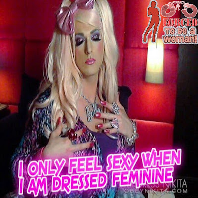 Feeling Sexy Sissy TG Caption - TG Captions and more - Crossdressing and Sissy Tales and Captioned images