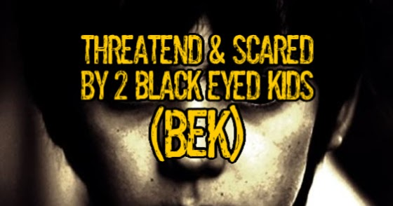 Amenazado por 2 niños de Ojos negros